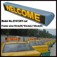 Cheap Product:P6 LED Taxi Roof Sign for sale