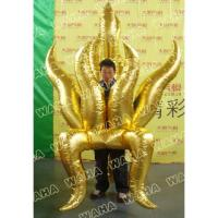 Parade Golden Inflatable Fire Costume for Event Party Decoration