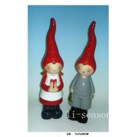 Ceramic Table Ornaments LXC136007 boy and girl