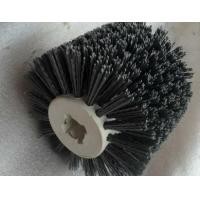 Cylinder Brush DuPont abrasive wire cross core wheel