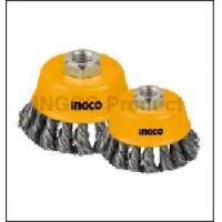 Cheap Power tools accessories Wire cup brushes with nut for sale