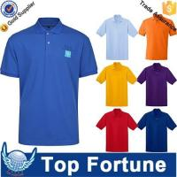 Cheap OEM golf polo shirt for men professional manufacturer for sale