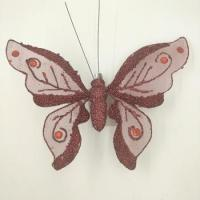 High quality red butterfly wedding decoration