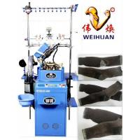 4'' 7f Computerized Plain Sock Knitting Machine with The Character of Two Feeder