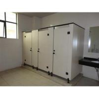 Phenolic HPL Toilet Partition With Hardwares