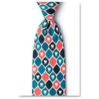 Cheap Apparel Dentist Tooth Necktie for sale