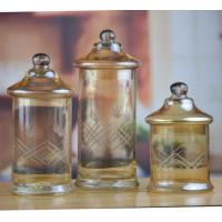 Spirit Glasses Custom Colorful Glass Storage Containers And Glass Jar from Daxi Houseware