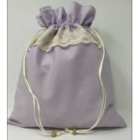 Cheap Rose lace dusty drawstring bag of protection for sale