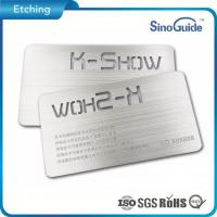 Photo Etched Parts Half Etch Nameplate
