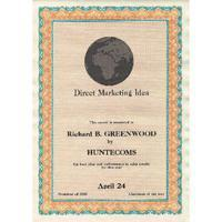 Paper Decadry Certificate Paper 115gsm A4 Turquoise/Orange (Pack of 70) DSD1056