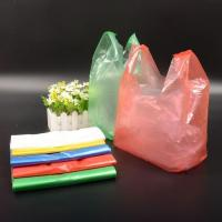 The Colored T-shirt Plastic Bag Not Printed