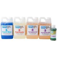 Grout Rescue Kit with Super Blue, Rejuvenator, Impregnator H2O, and EnziBrite