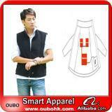 Apparel Fashion Waistcoat For Men Design with electric heating system heated clothing warm OUBOHK