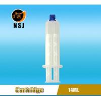 Cheap Dental Cartridge 14ml 1:1 Disposable Double Dental Empty Silicone Syringe for sale