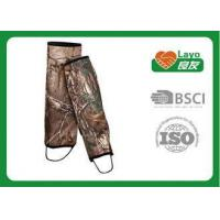 Cheap Camouflage Waterproof Leg Gaiters For Hiking Walking Climbing for sale