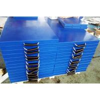 Various color crane jack pad UHMWPE crane stabilizer pad outrigger pad