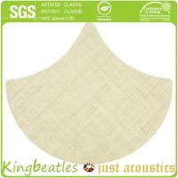 Cheap Wool Silk Decorative Acoustics Tiles for Sound Absorbing and Insulation in Office, Hotel for sale