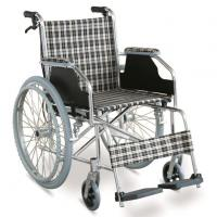 Cheap #JL869LXJ  29 lbs. Simple Ultralight Wheelchair With Handle Brakes & Dual Cross Brace for sale