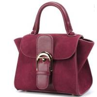 Cheap Latest fashion suede women leather handbag for sale