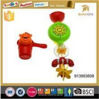 Baby plastic Funnel water pipe shower toy Bath Water shampoo Spoon ladle toy set
