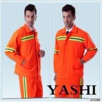Cheap Uniform Hot Sell New Design Orange Safety Worksuit for sale