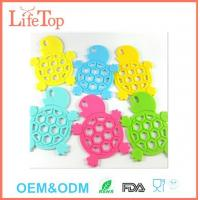 Cute Silicone Tortoise Shape Pot Holder Mat Trivet Cups,Spoon Rest