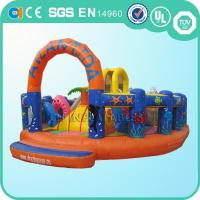 Cheap mini inflatable fun city for sale