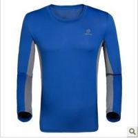 Cheap T-shirt/Polo Round collar quick-drying long-sleeved T-shirt for sale