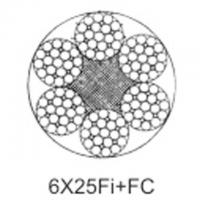 Steel aircraft cable 6X25Fi+FC