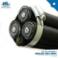 Cheap 10kv 35kv aerial cable with PE/XLPE insulation for sale