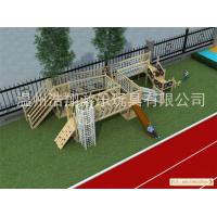 Competitive Price High Quality Wooden Outdoor Playground Equipment for Sale