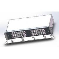 """Quality 96 Cores Fiber Optic Termination Box Drawer Type 19""""Subrack Loaded With Duplex LC Adapters for sale"""