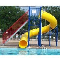 Cheap Water Play Park Fiberglass Water Tube Slide For Swimming Pool for sale