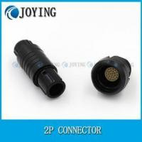 Quality JY- CAB CLB 2P 2pin-26pin plastic outer shell IP50 welding connector 2P connector with self-locking for sale
