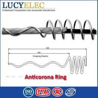 Electrical Protective Fittings Aluminium Alloy Anticorona Ring for ADSS