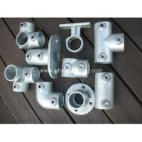 Quality kee clamp fittings for handrail for sale