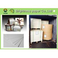 Quality 190g ~ 400g Ivory Board Paper With 2 Side White Laminated Cardboard for sale