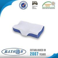 Cheap High Density Slow Rebound Orthopedic Memory Foam Pillow with Knitted Fabric Cover for sale