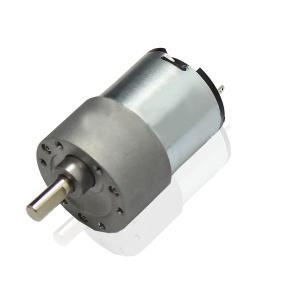 12v 24v low rpm dc gear motor with certificate of brush for Low rpm motor dc