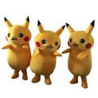 Hot Pikachu mascot costume Adult Size Chirstmas Party Fancy Dress Stock