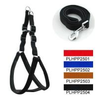 Cheap Classic & Padded Harness Leash Set 2.5cm for sale