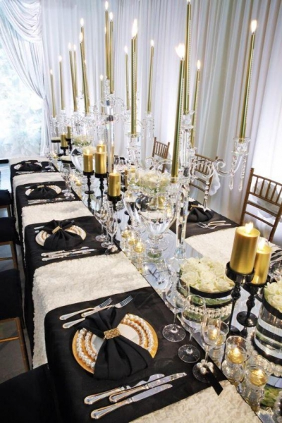 The Glass Crystal Tall Candle Holders For Wedding Centerpieces For