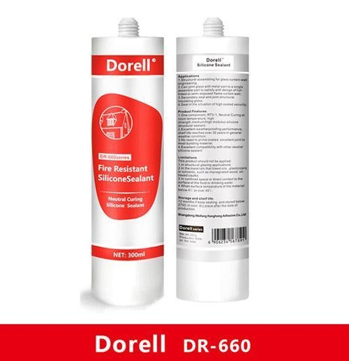Fire Resistant Caulking : Fire resistant neutral silicone sealant with certificate