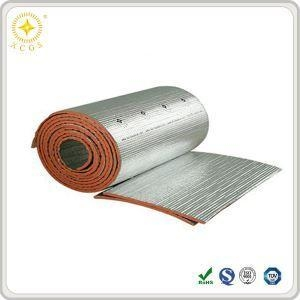 Two layer green anti static esd rubber table mats rolls for Fire resistant insulation