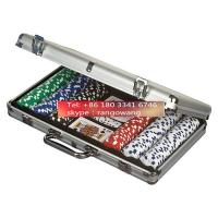 400pc Poker Set in Aluminum Case Poker Chip Small Carry Case