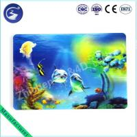 3D effect PP lenticular table mat Placemat of Sea scenery