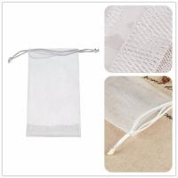 Foaming facial cleanser PE net for facial cleansing soap net A43