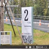 Many Kinds Of Free Standing Iron Number Frame Sign Made In China