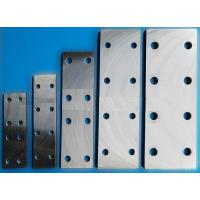 Lift Parts Fishplate For Machined Guide Rails & Cold Drawn Guide Rails